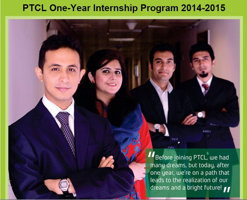 PTCL One-Year Internship Program 2014-2015