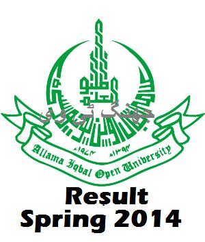 Spring Result 2014