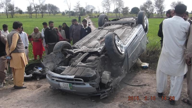 Road Traffic accident Mochiwa la Fsd Road Jhang (3)