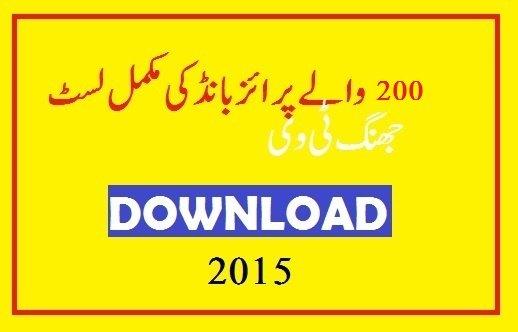 Prize-Bond-Result-Rs-200-full-list-hyderabad-Draw-2015